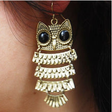 Load image into Gallery viewer, Retro Owl Earrings