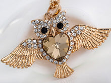 Load image into Gallery viewer, Owl Charms Pendant Necklace