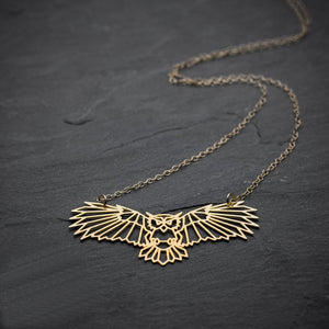 Unique Owl Necklace