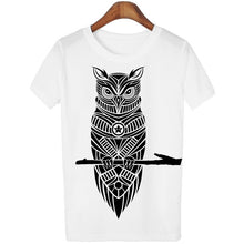 Load image into Gallery viewer, Casual Owl Print Shirt