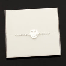 Load image into Gallery viewer, Owl With Moon Charm Bracelet