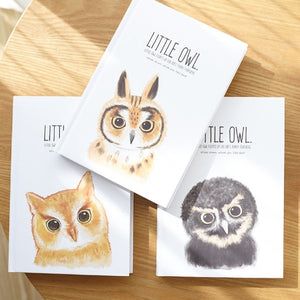 Little Owl Hardcover Notebook