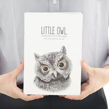 Load image into Gallery viewer, Little Owl Hardcover Notebook