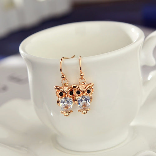 Trendy Owl Earrings