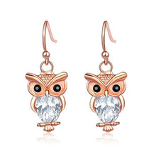 Load image into Gallery viewer, Trendy Owl Earrings