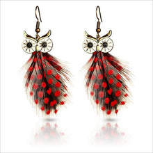 Load image into Gallery viewer, Lifelike Owl Stud Earrings