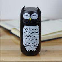 Load image into Gallery viewer, Stainless Steel Owl Thermos