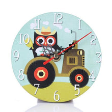 Load image into Gallery viewer, Vintage Owl Living Room Wall Clock