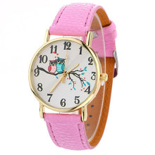 Load image into Gallery viewer, Cute Owl Pattern Wrist Watch