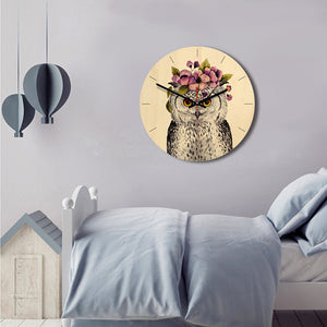 Round Decorative Clock