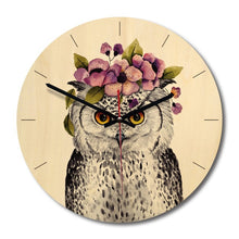 Load image into Gallery viewer, Round Decorative Clock