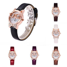 Load image into Gallery viewer, Fashion Owl Pattern Wrist Watch