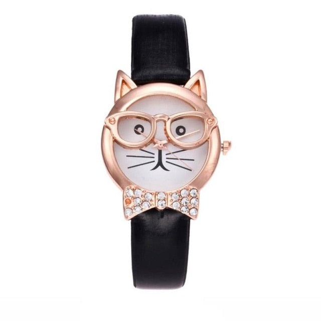 Fashion Owl Pattern Wrist Watch