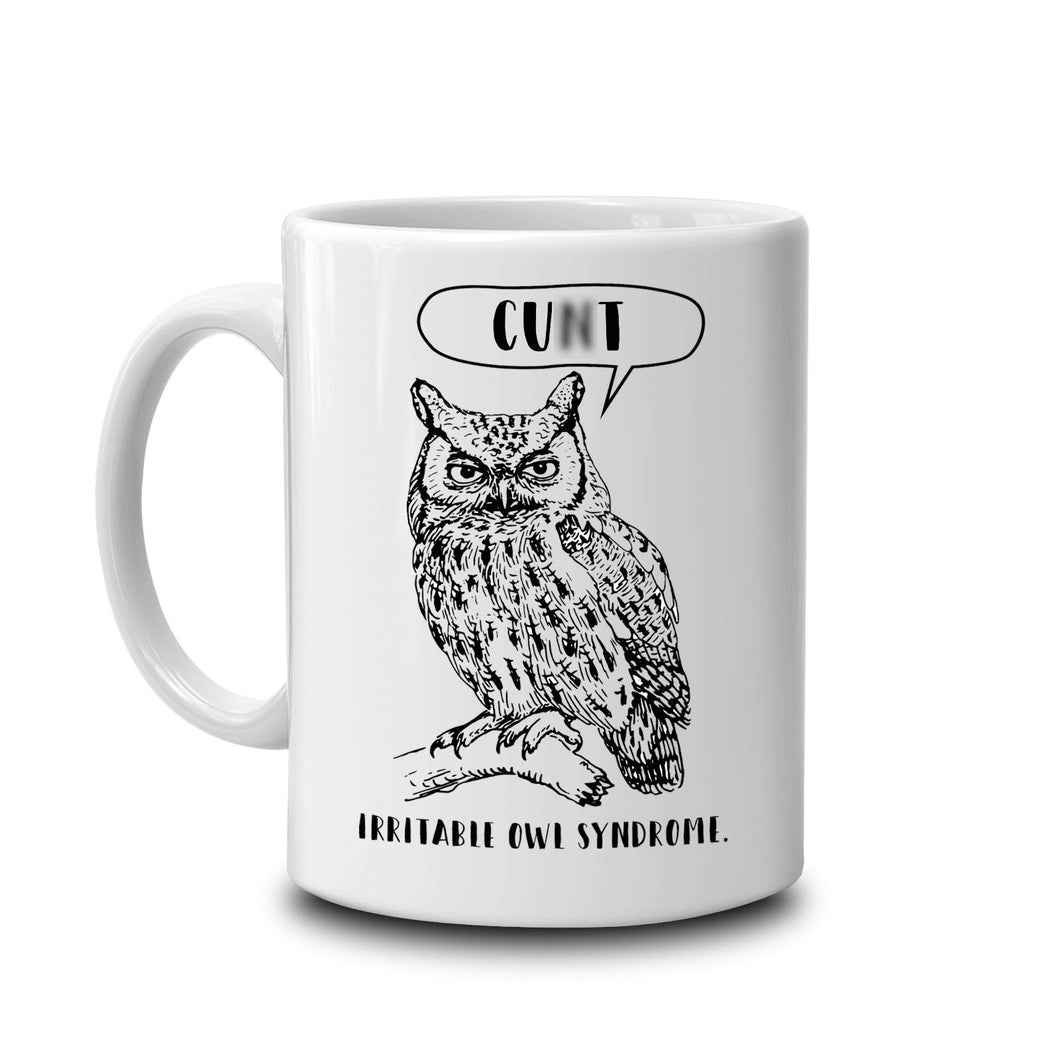Irritable Owl Swear Mug