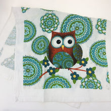 Load image into Gallery viewer, Cotton Owl Design Gloves