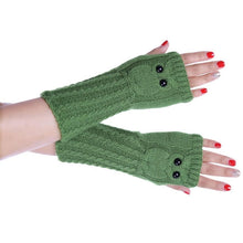 Load image into Gallery viewer, Fingerless Winter Gloves