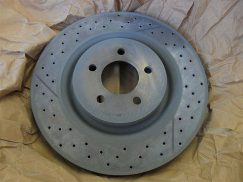 Ford Genuine Brembo 355mm xdrilled rotor
