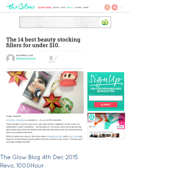 The Glow blog post Dec 4th 2015