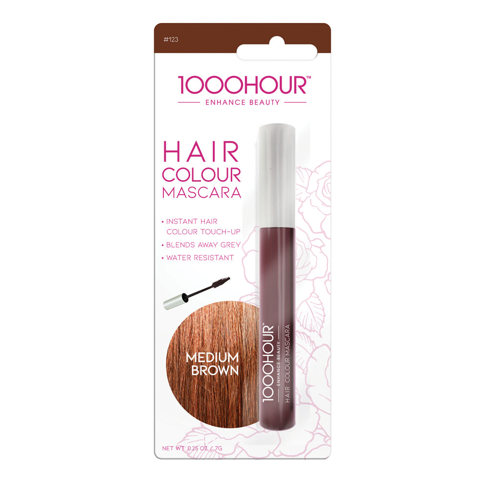Hair Colour Mascara - Medium Brown