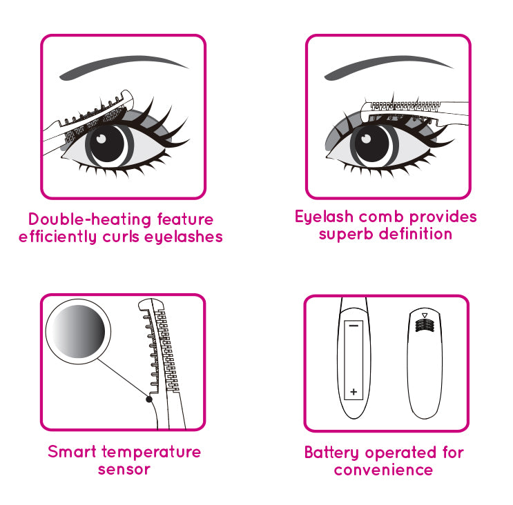 1000HOUR Heated Eyelash Curler