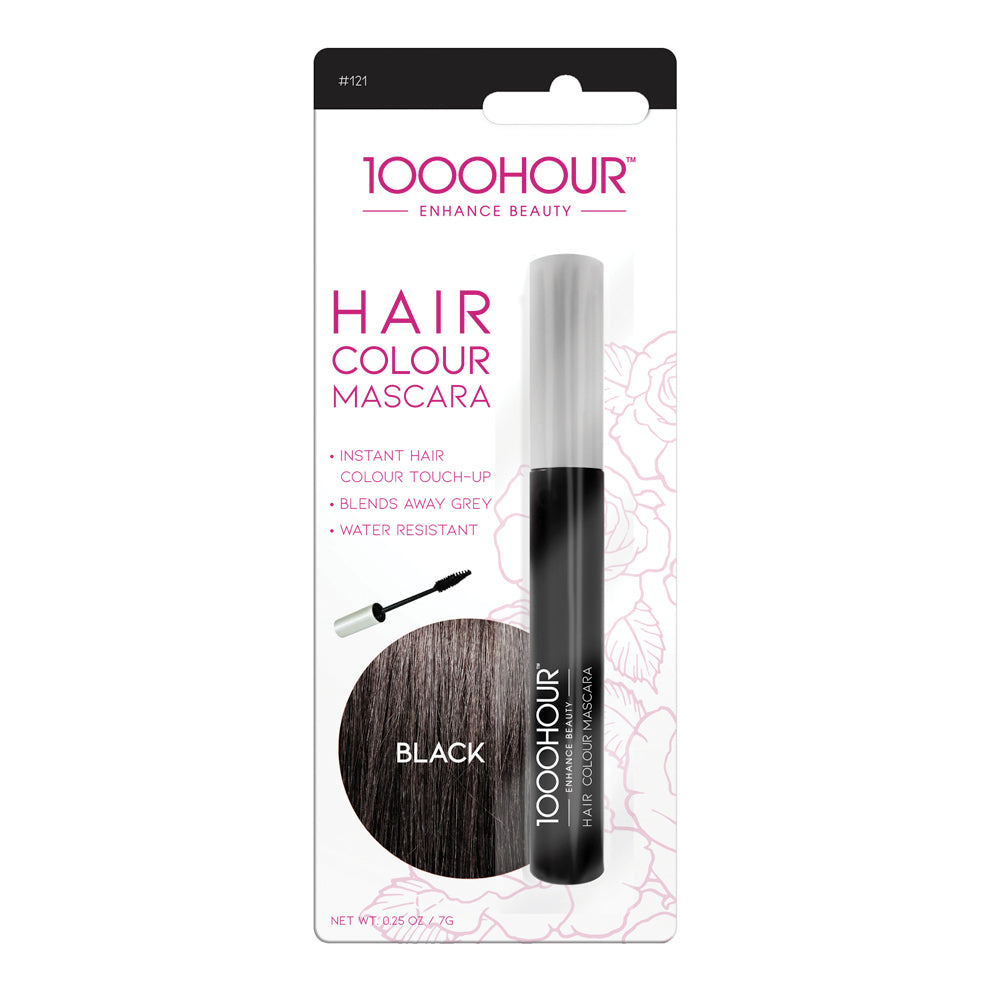 1000hour Hair Colour Mascara - Black