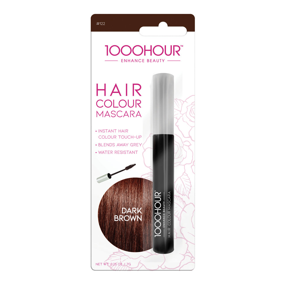 1000HOUR Hair Colour Mascara - Dark Brown