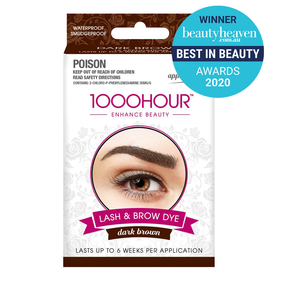 Lash & Brow Dye Kit - Dark Brown