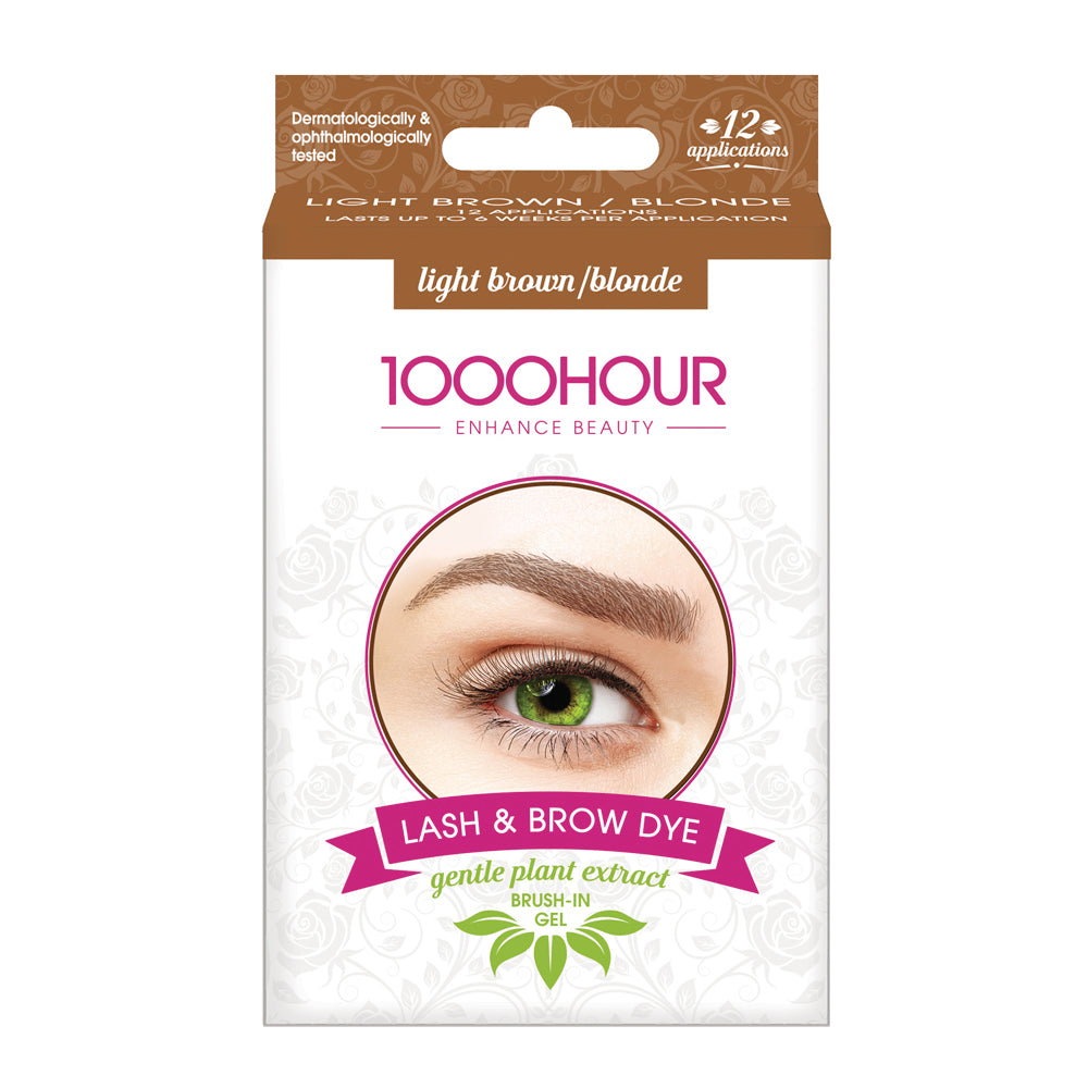 PLANT EXTRACT Lash & Brow Dye Kit - Light Brown