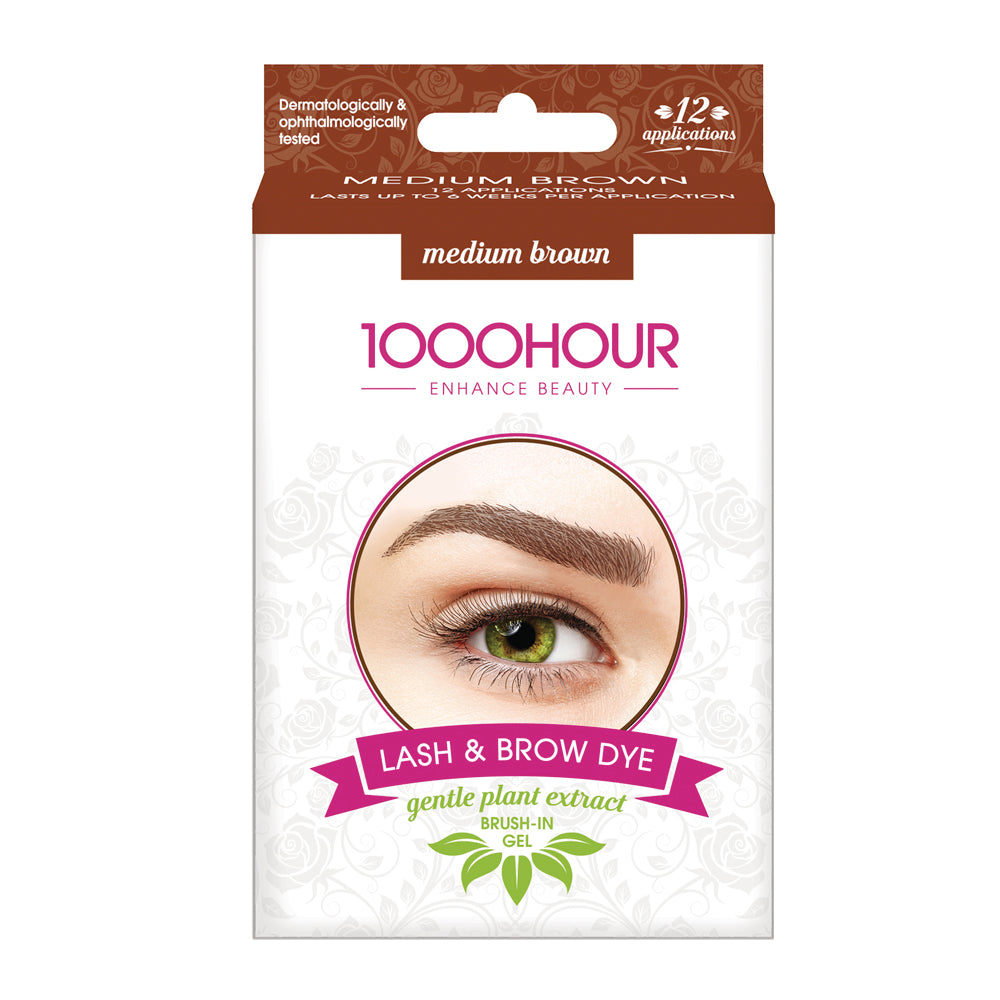 PLANT EXTRACT Lash & Brow Dye Kit - Medium Brown