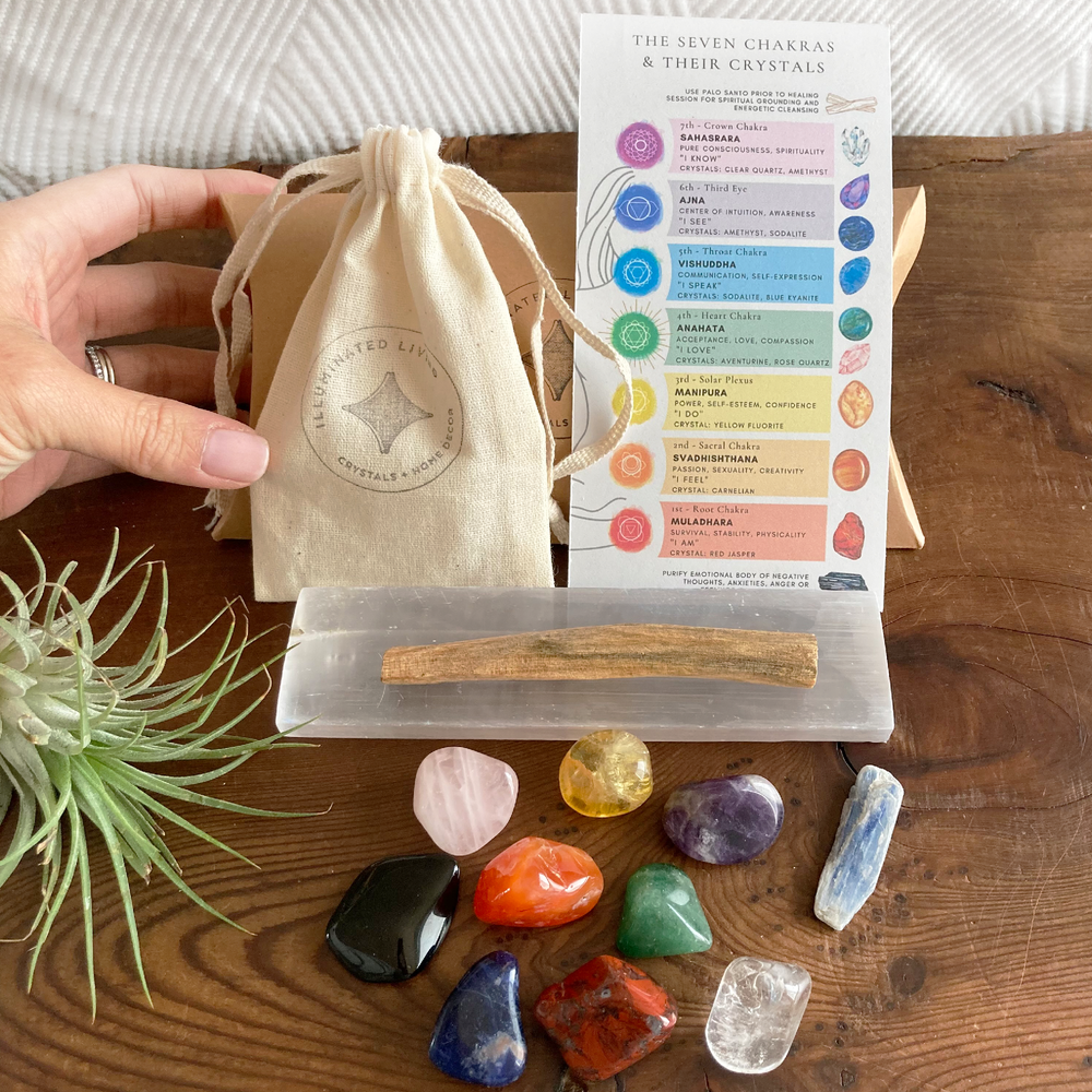 Exclusive 13-Piece Chakra Cleansing & Balancing Gift Set
