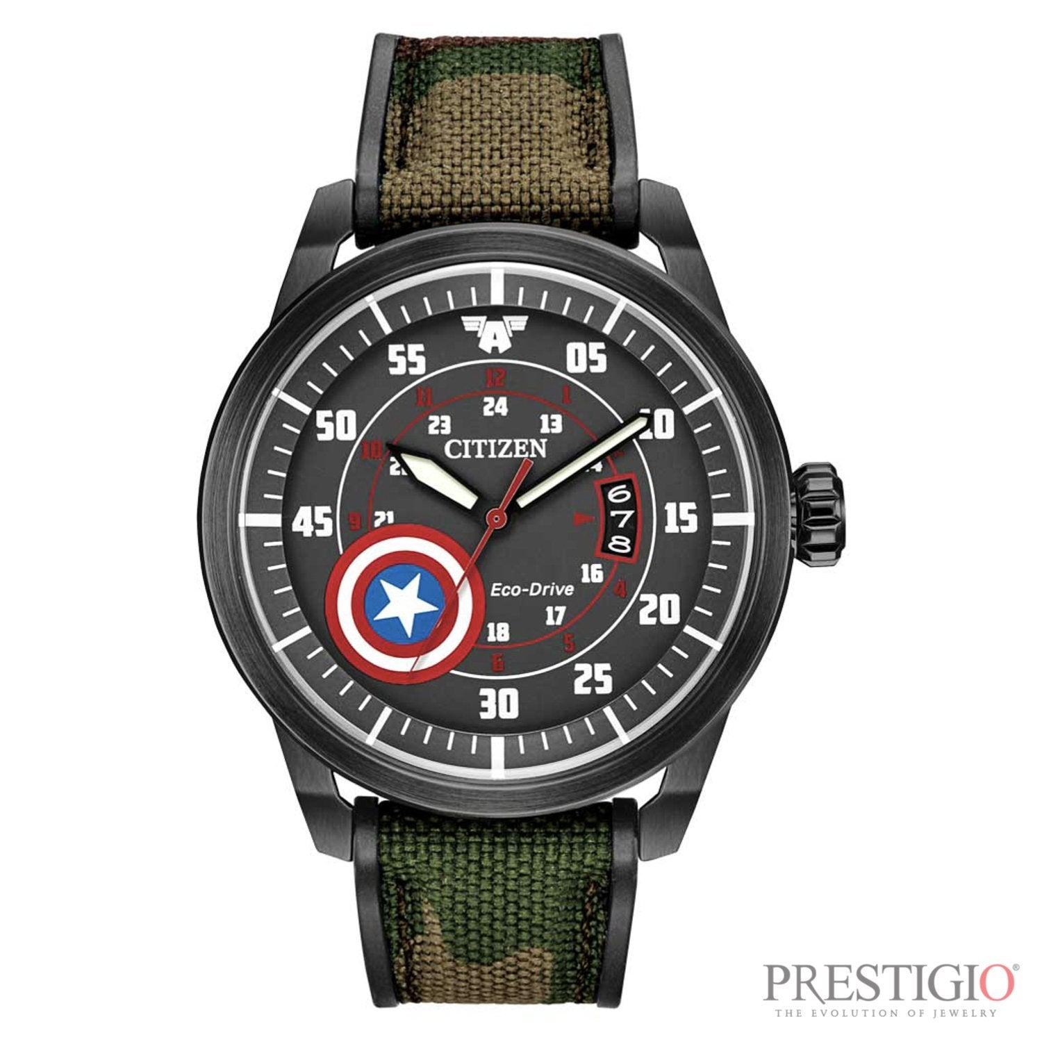 Citizen Captain America Watch