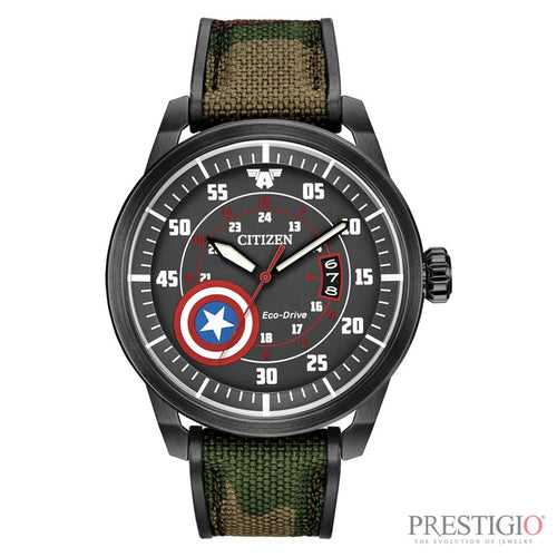 Citizen Captain America Watch - prestigiojewelers
