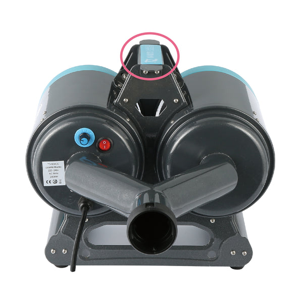 Gemini Parallel Dual Motor Grooming Dryer