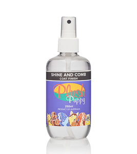 Shine and Comb Coat Finisher (Plush Puppy)