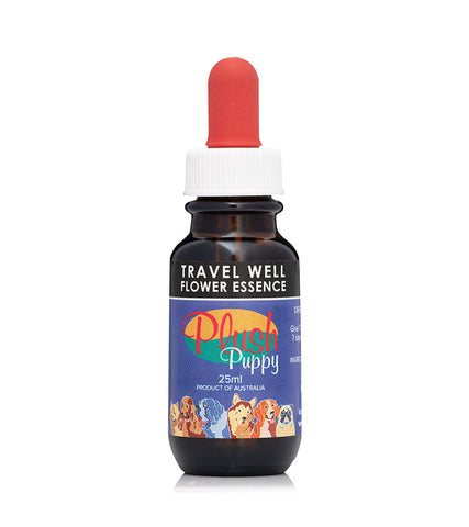 Travel Well Flower Essence Drops (plush Puppy)