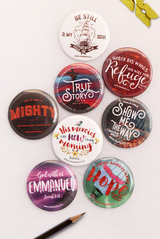 BADGETS - Badges-cum-magnets