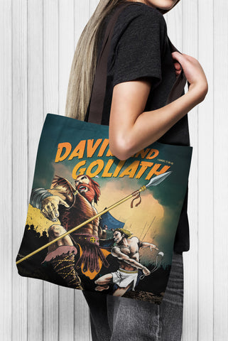 David & Goliath Tote Bag