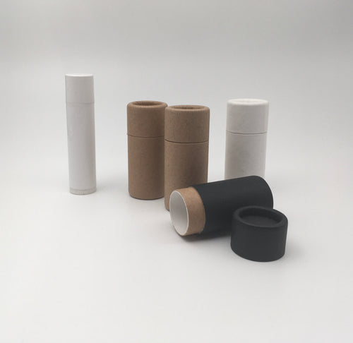 .25 ounce / 7 g Paperboard Lip Balm Tubes