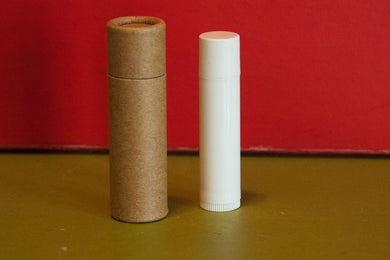 .3 ounce / 8.5 g Natural Kraft Lip Balm Tubes