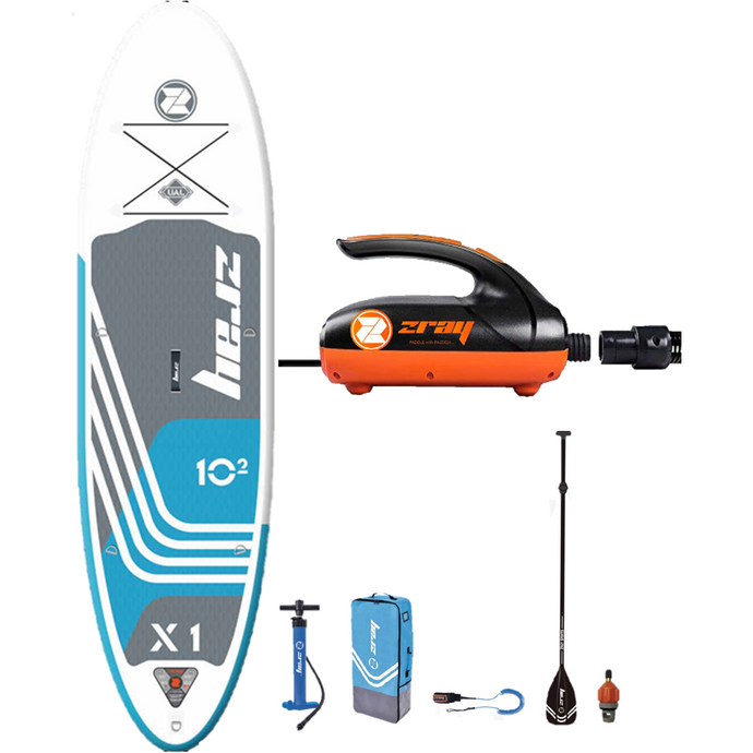 X-Rider X1 Inflatable Stand Up Paddle Board + Pump Combo!