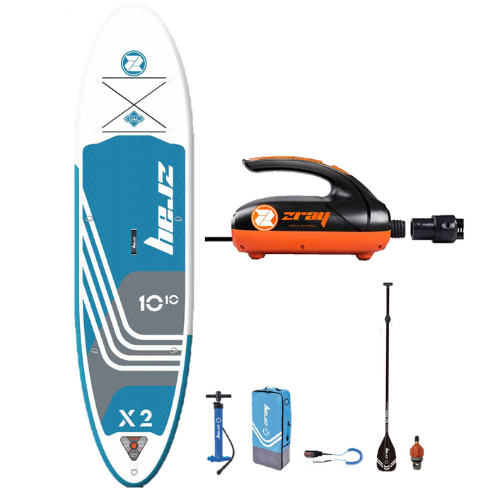 X-Rider Deluxe Inflatable Stand Up Paddle Board (X2) + Pump Combo