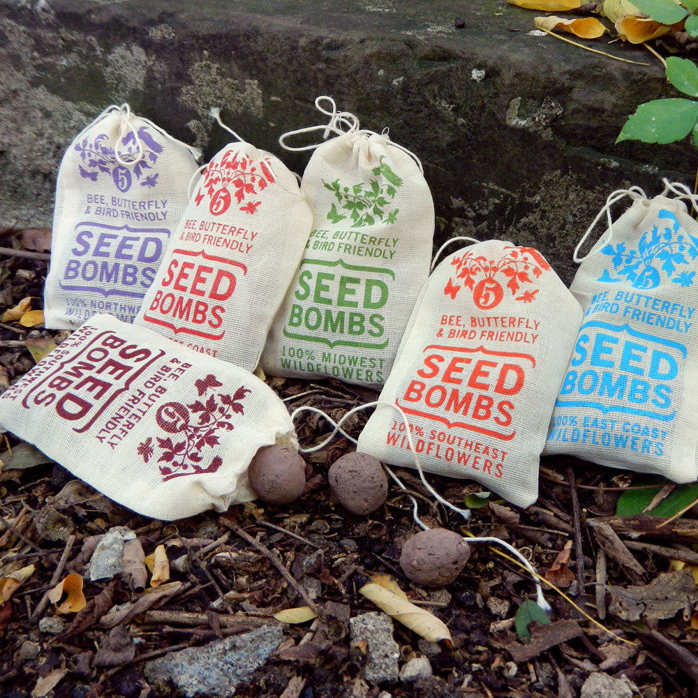 Regional Wildflower Seed Bombs