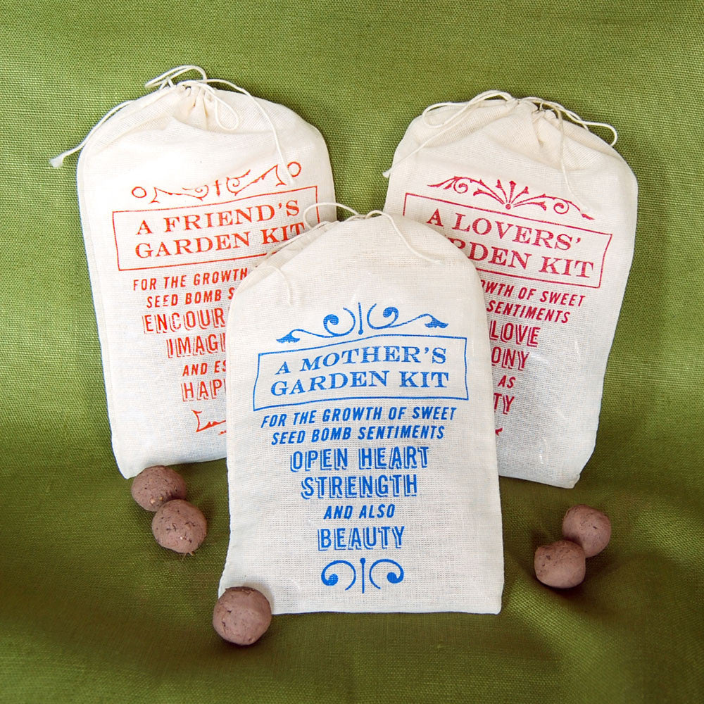 Sweet Sentiments Seed Bomb Kits
