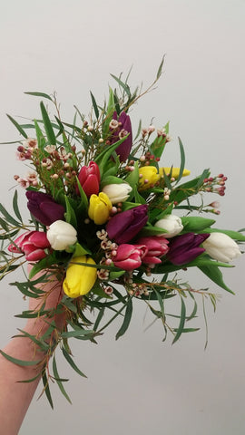 Hand Tied Bouquet - Single or Subscription
