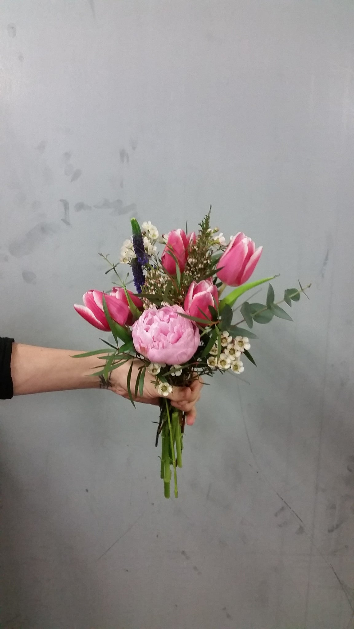 Small hand tied flower delivery