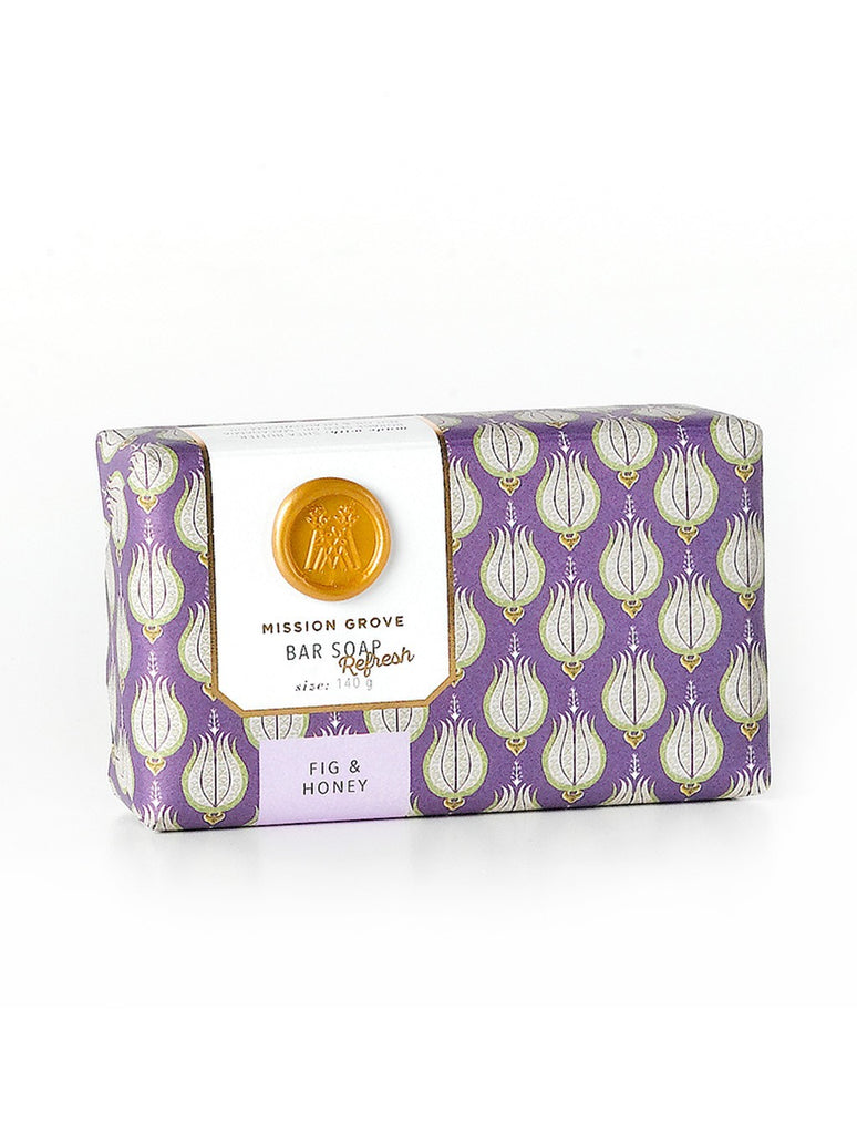 Soap & Paper Factory Fig and Honey Shea Butter Soap Made in NY