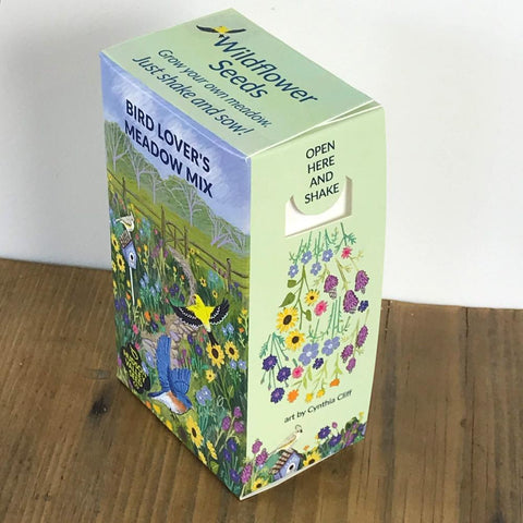 Bird Lover's Meadow Seed Shaker - 100 Square Feet