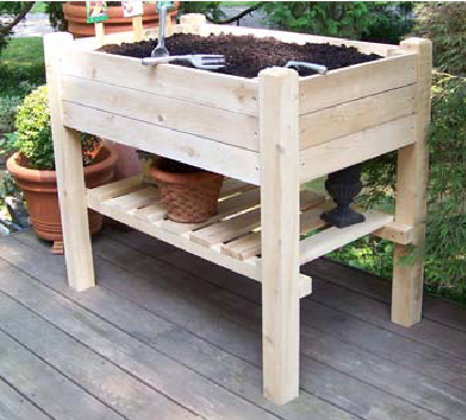 Kitchen Garden Planter/ Potting Bench