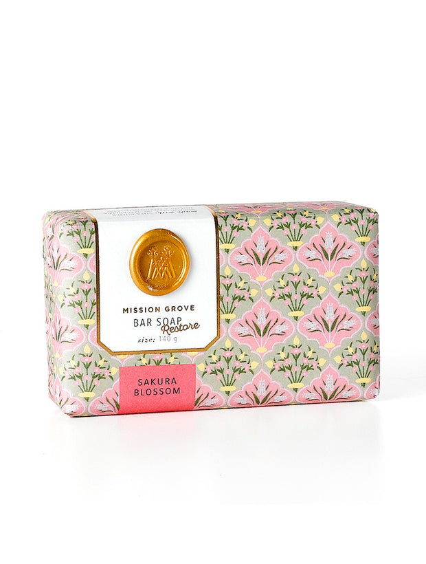 Soap & Paper Factory Sakura Blossom Shea Butter Soap Made in NY
