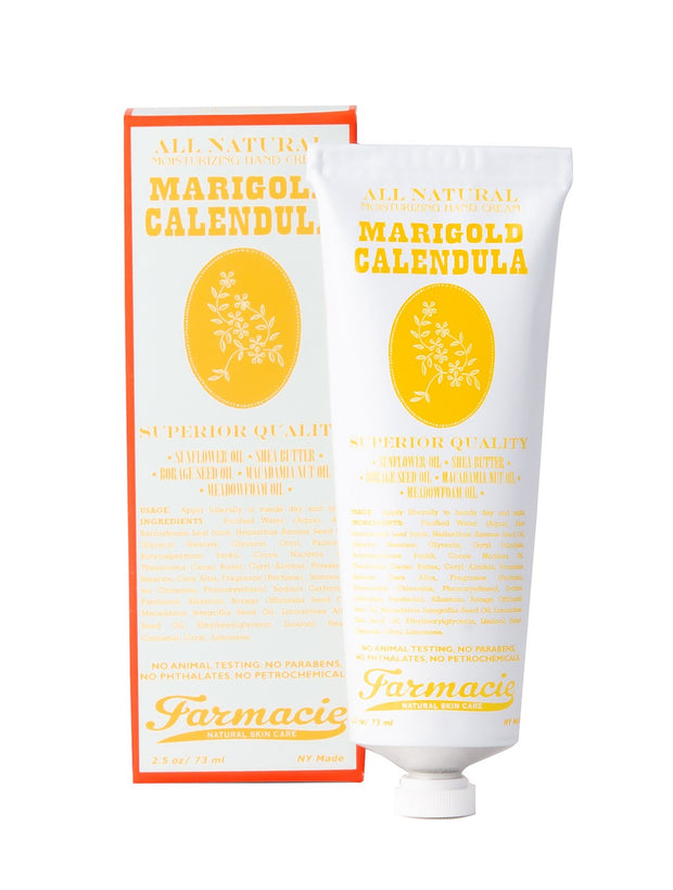 Soap & Paper Factory Marigold Calendula Hand Cream, Made in NY